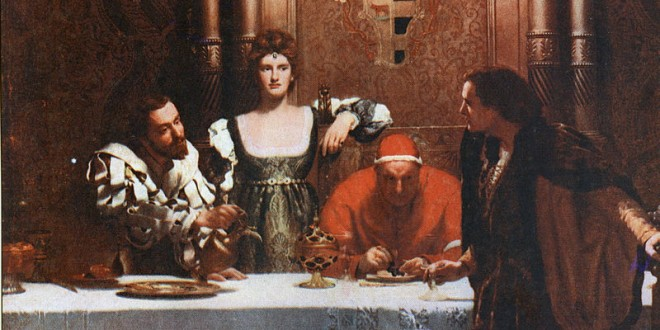 A_Glass_of_Wine_with_Caesar_Borgia_-_John_Collier