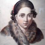 Екатерина Хаджигюрова, портрет, акварел, хартия, НХГ, ок. 1839