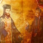 Автопортрет на Захари Зограф и портрет на игумена на Троянския манастир