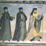 Редом с  игумена Матей и проигумена Агапий