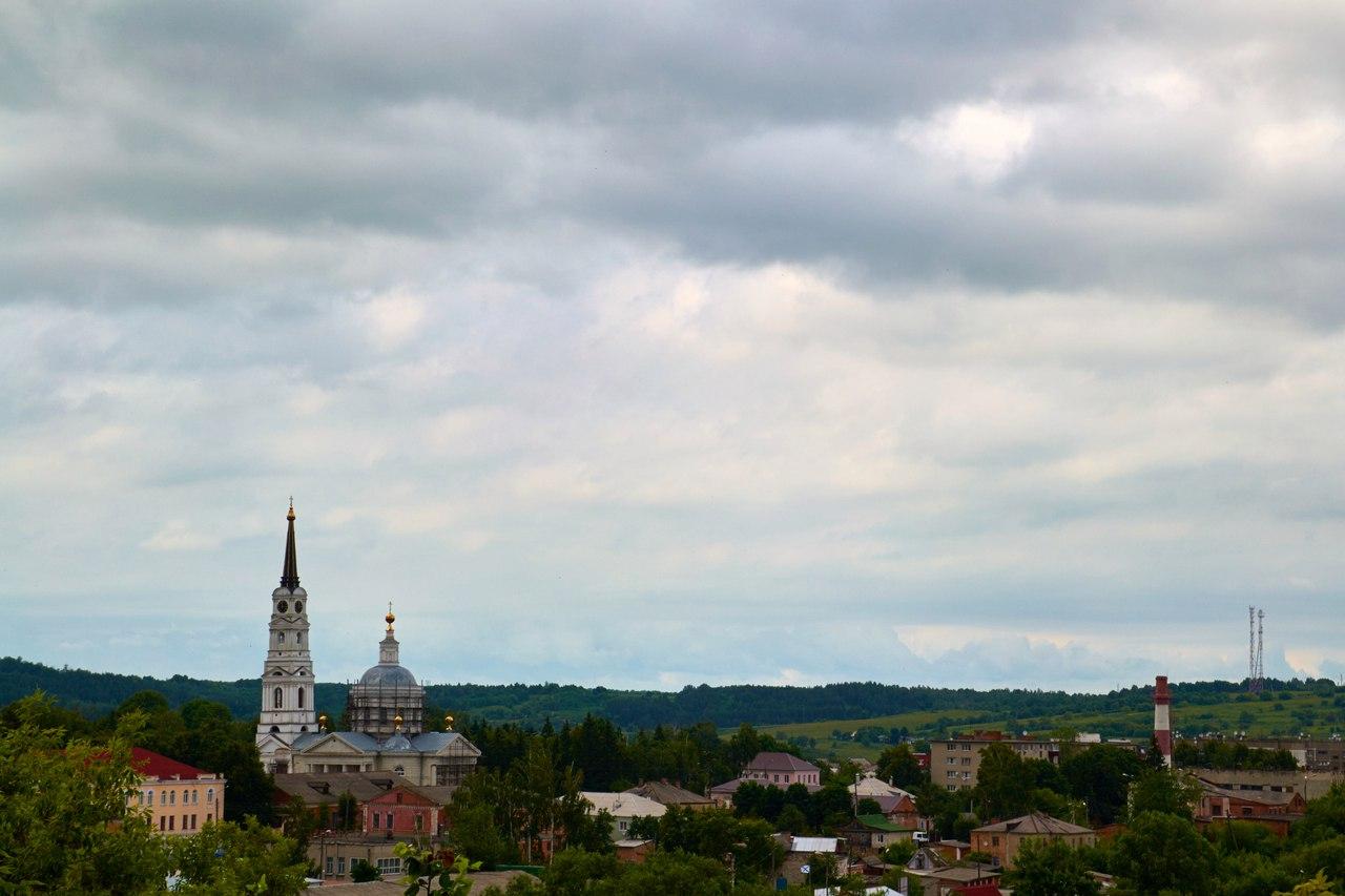 Изглед към град Рилск