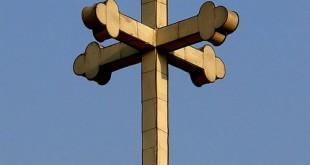 Coptic-cross-on-church