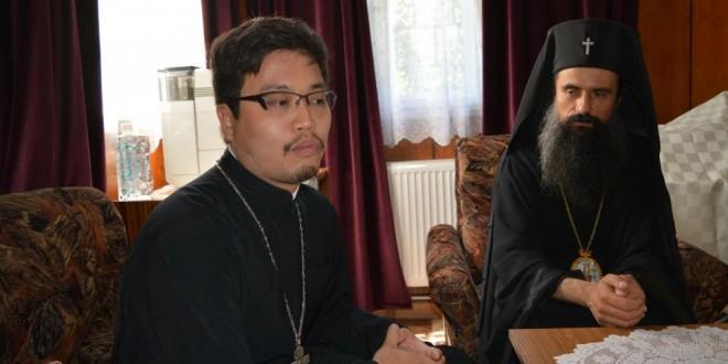 Православен йеромонах от Япония бе гост на Видинска митрополия